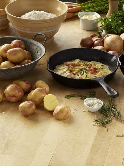 Prairie Blush Panfried potatoes