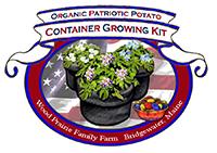 Organic Certified Patriotic Potato Container Growing Kit