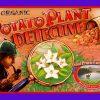 The Organic Potato Plant Detective label.