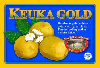 Organic Keuka Gold Potatoes for the Kitchen
