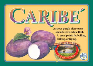 Organic Caribe' Potatoes for the Kitchen.