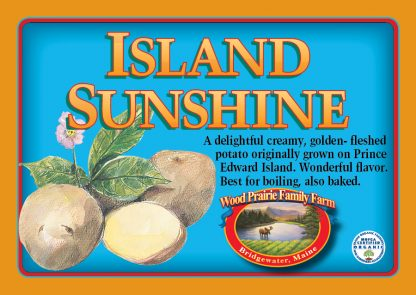 Organic Island Sunshine Potatoes for the Kitchen.