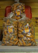25 lb Poly Carrot Bags