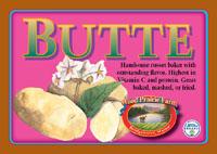 Organic Certified Butte Seed Potatoes
