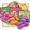 8 lbs Organic Wood Prairie Potato / Fingerlings Sampler