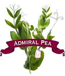 Pea Seed. Organic Admiral.