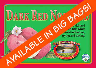 Organic Certified Dark Red Norland Seed Potatoes