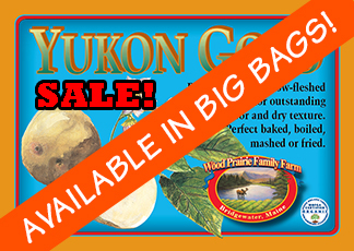Organic Certified Yukon Gold Seed Potatoes