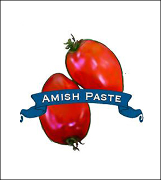 Tomato Seed. Organic Amish Paste. Heirloom. Pkt.