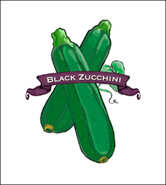 Zucchini Seed. Organic Summer Black. Heirloom. Pkt.