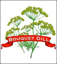 Herb Seed. Organic Bouquet Dill. Pkt.