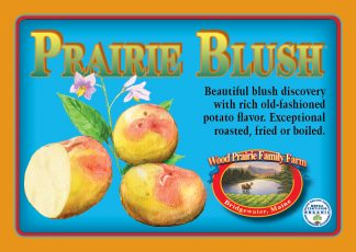 Organic Certified Prairie Blush Seed Potatoes