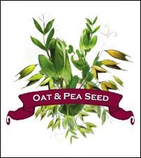 Oat - Pea Seed. Organic Mix.