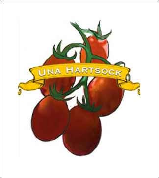 Tomato Seed. Organic Una Hartsock. Pkt.