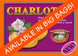 Organic Certified Charlotte Seed Potatoes
