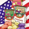 Wood Prairie Red, White & Blue Organic Seed Potato Collection