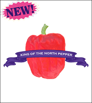 Pepper Seed, Organic King of the North. Pkt.