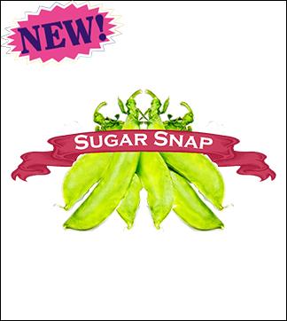 Pea Seed, Organic Sugar Snap. Pkt.