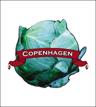 Cabbage Seed. Organic Copenhagen. Pkt.