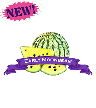 Melon Seed, Organic Early Moonbeam Watermelon. Pkt.